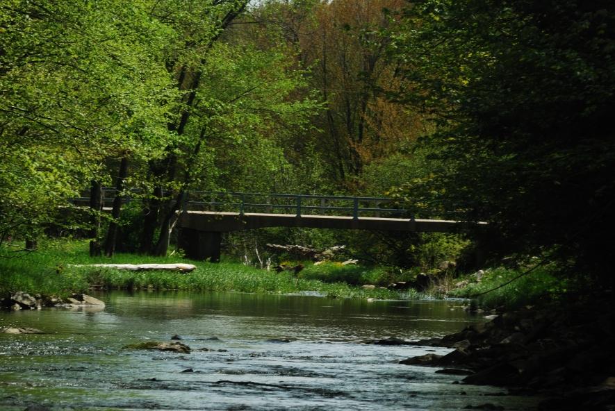 A Bridge Over Tranqil Water