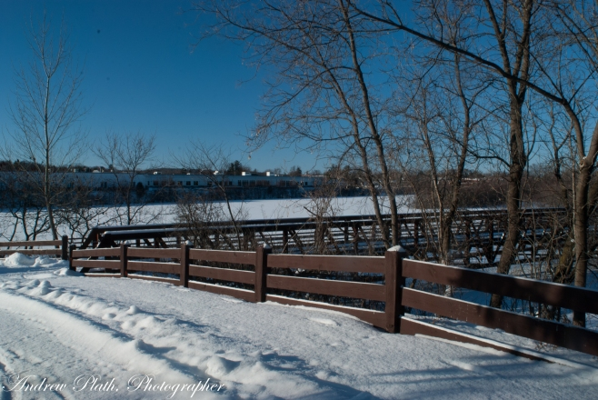 Winter On The Wisconsin