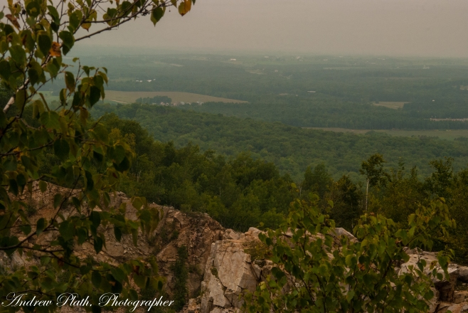 One of the many views of Rib Mountain's Quarry